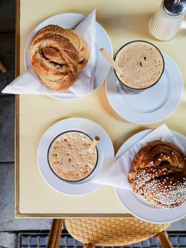 Stockholm Cafe Saturnus Buns