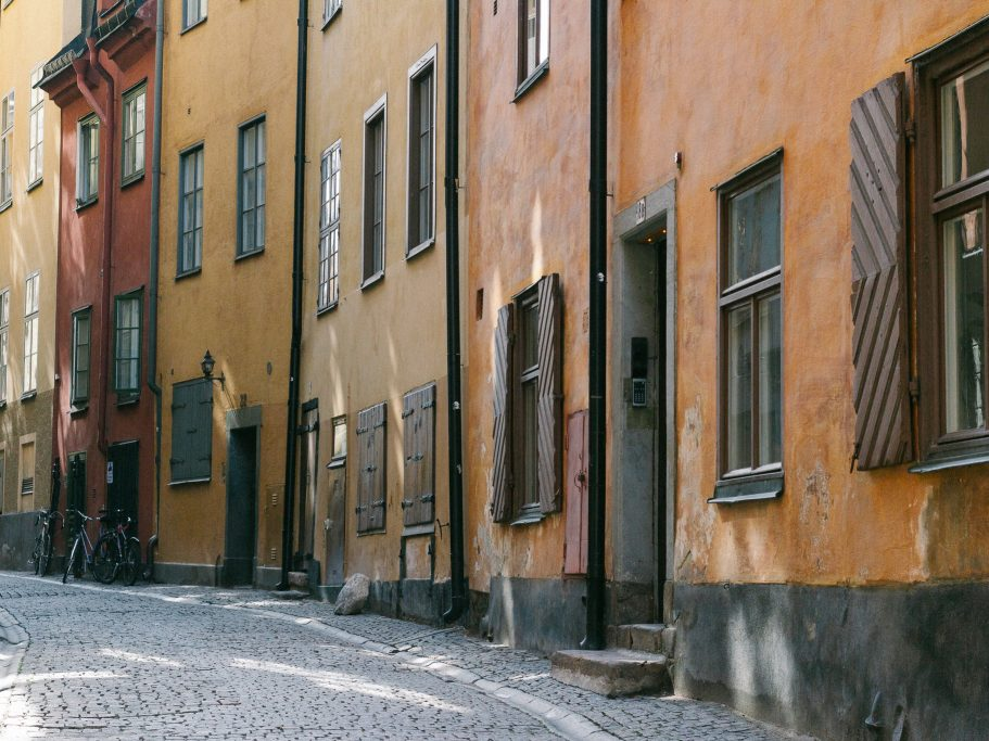 Stockholm - the streets of Gamla Stan