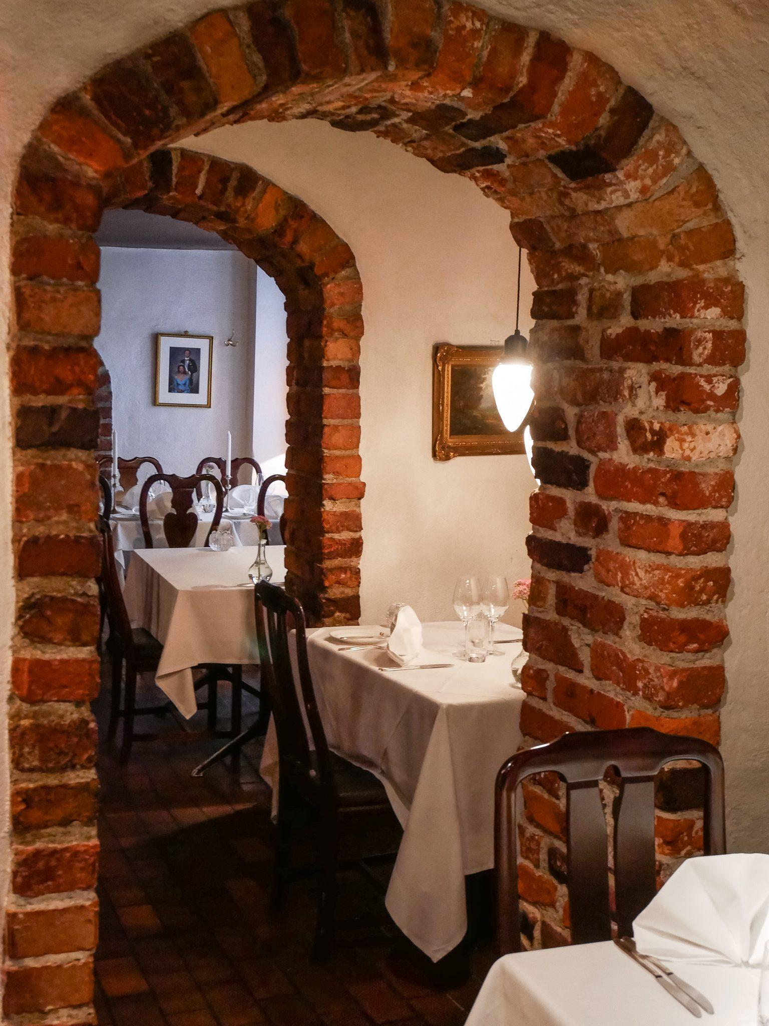 Inside Fem Sma Hus Stockholm Restaurant