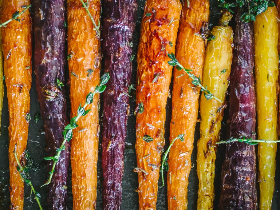 Marmalade and Caraway Roast Carrots