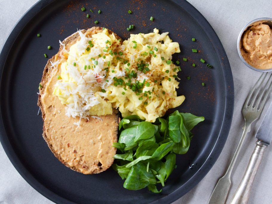 Crab Scrambled Eggs