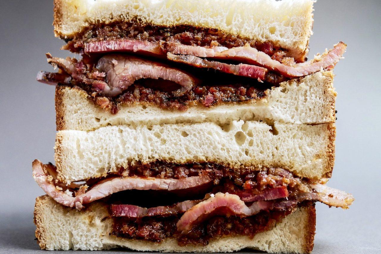 Best Bacon Sarnie with Bacon Jam