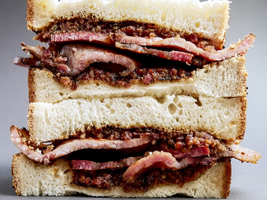 Best Bacon Sarnie with Bacon Jam