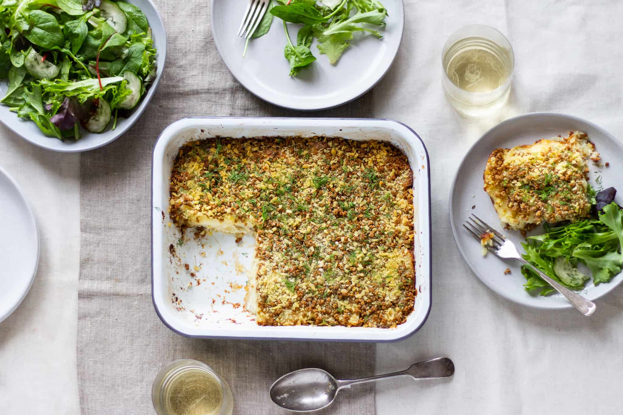 Swedish Jansson's Temptation Gratin