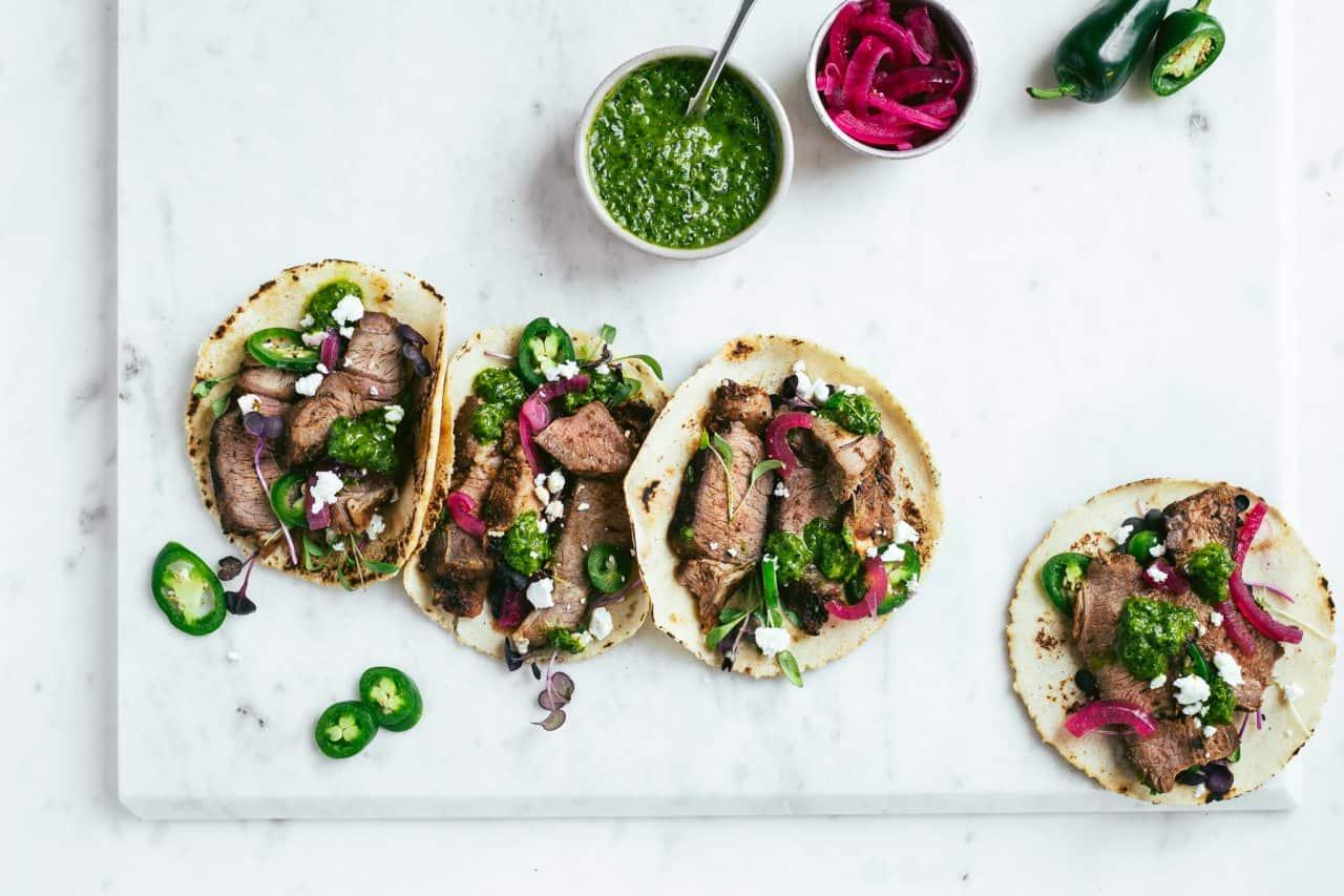 Lamb Tacos with Wild Garlic Salsa