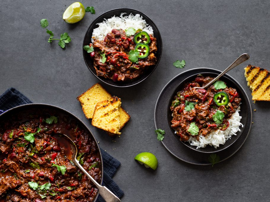 Oxtail Chili Con Carne