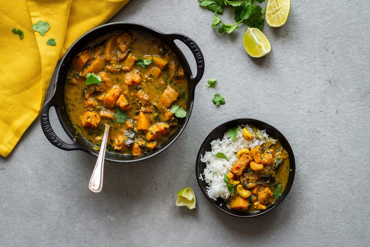 Sri Lankan Butternut Curry - Vegan