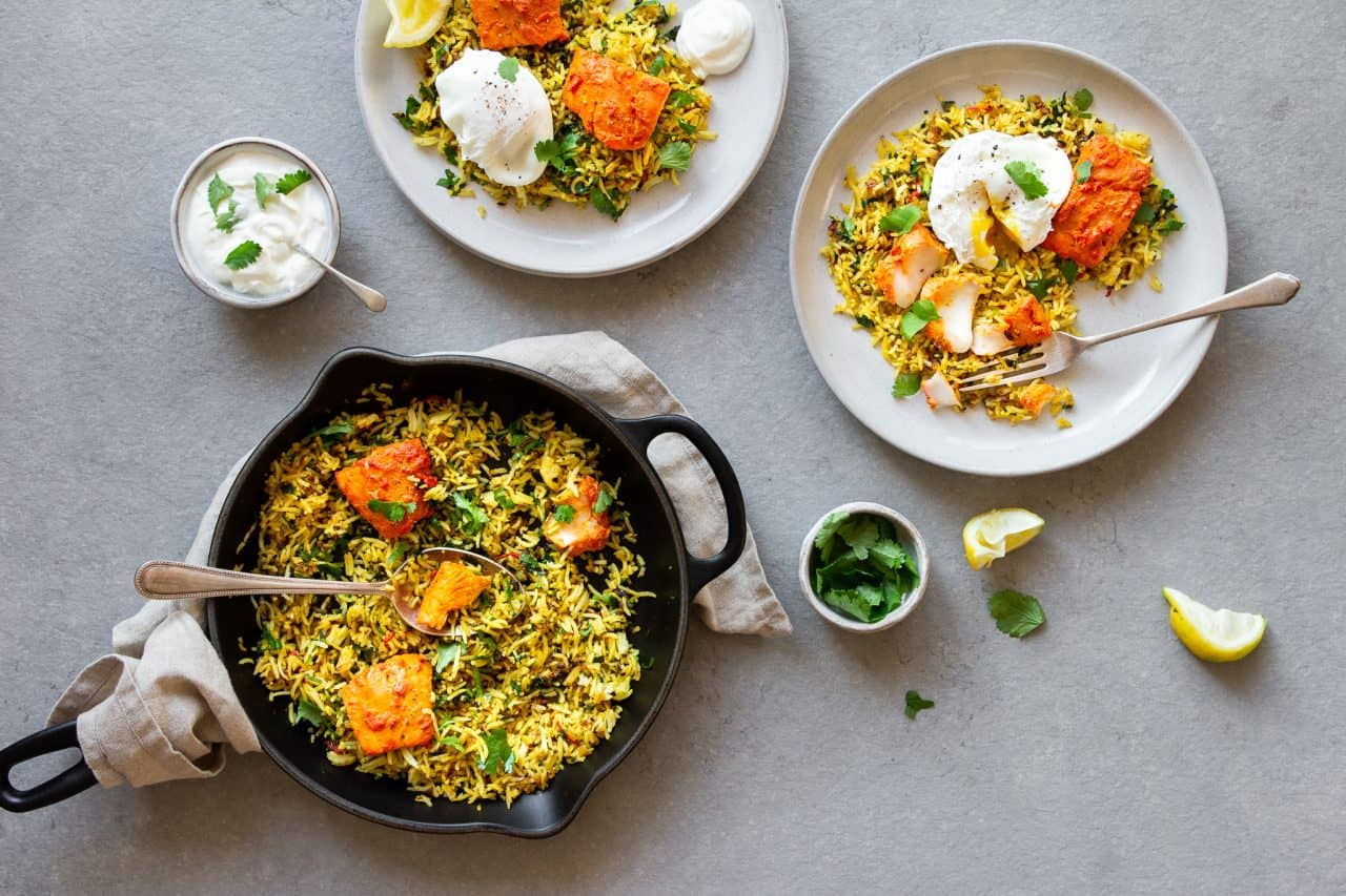 Tandoori Smoked Haddock Kedgeree