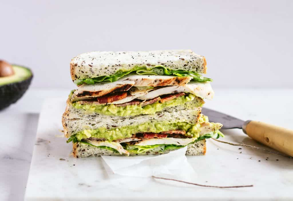 The Perfect Chicken, Bacon and Avocado Sandwich