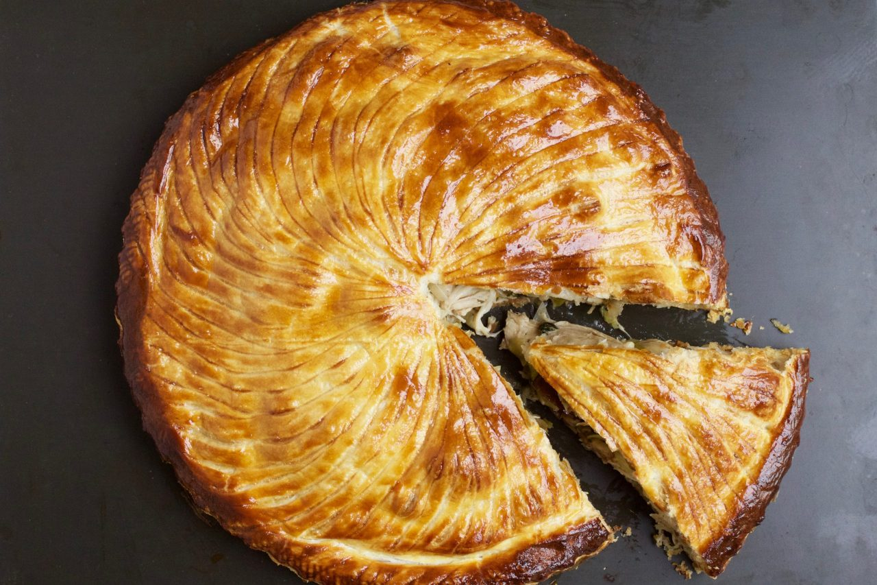 Turkey and Chesnut Pithivier