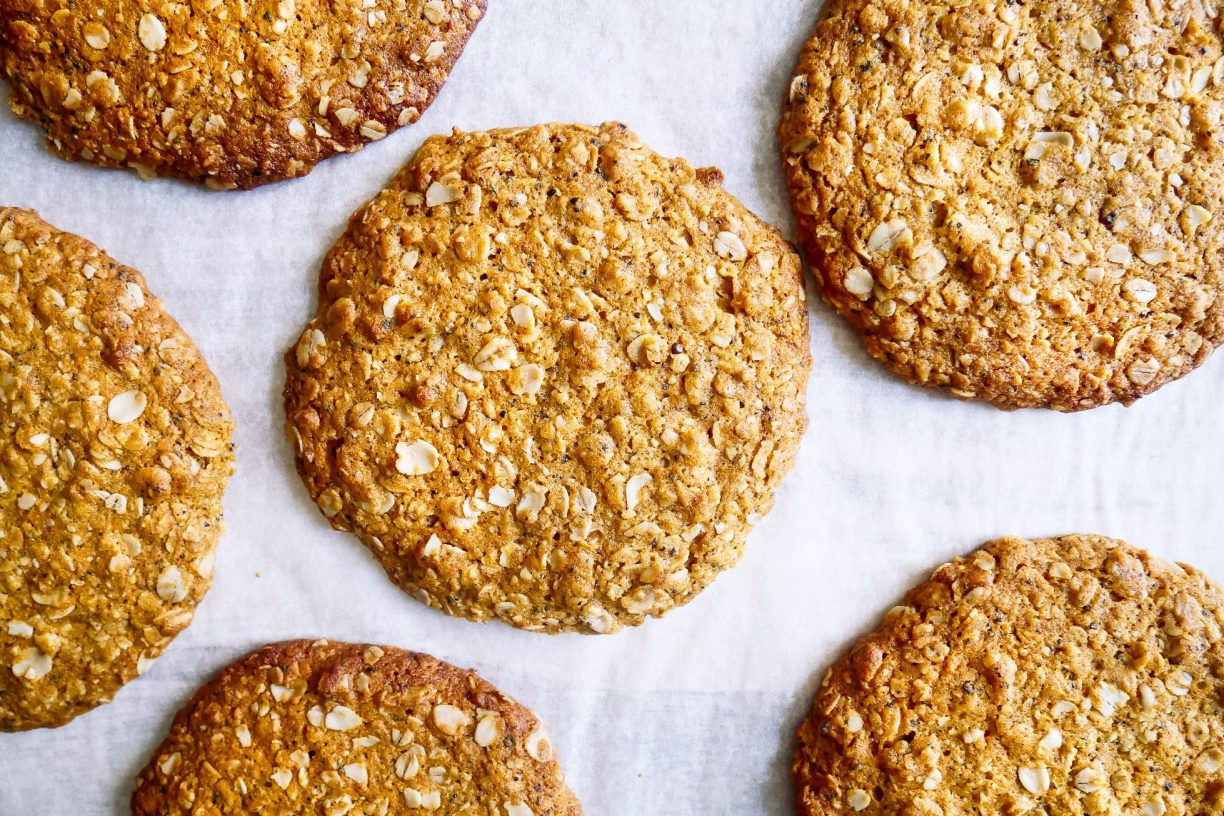 Wattleseed Anzac Biscuits