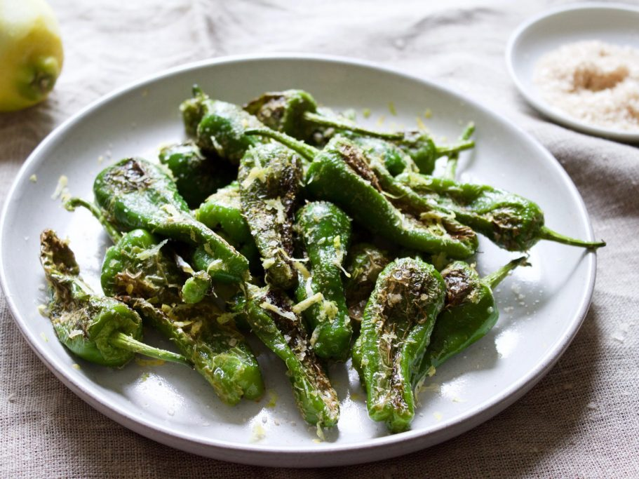 Zesty Padron Peppers