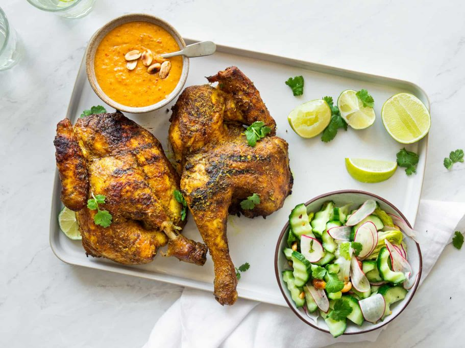 Satay Roast Chicken