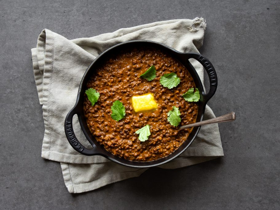 Black Garlic Dal Makhani