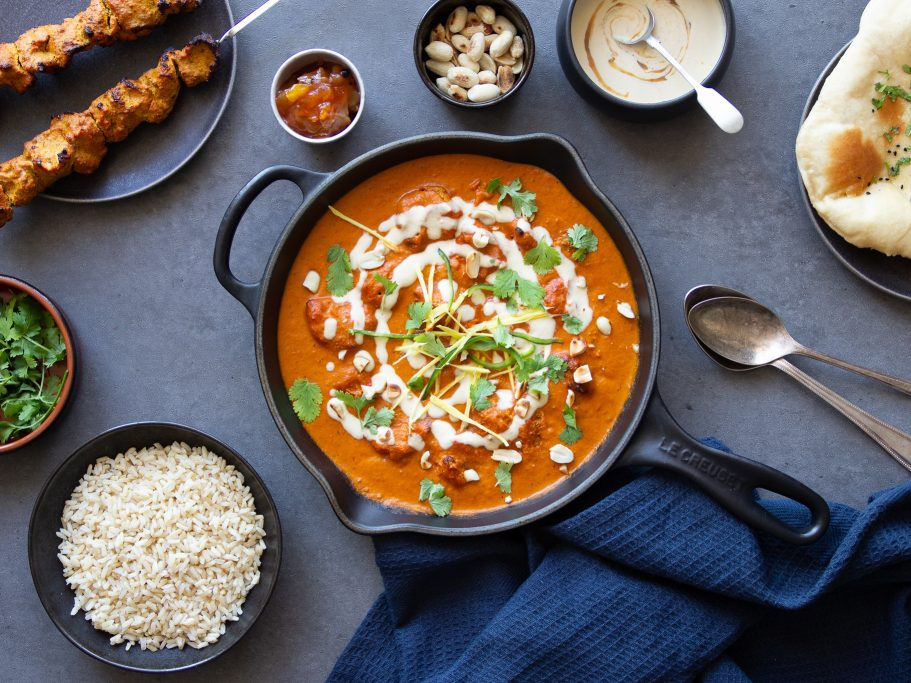 Indian Butter Chicken with Peanut Cream