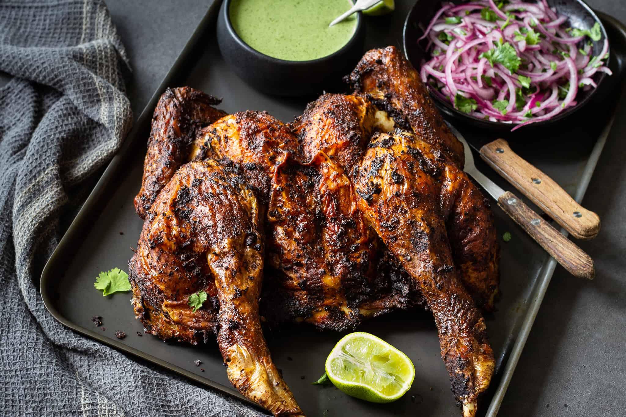 Peruvian Roast Chicken - Pollo a la Brassa