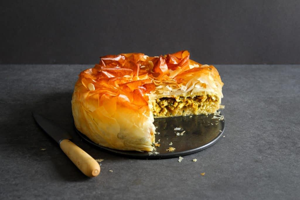 Moroccan Chicken Pastilla with Frangipane