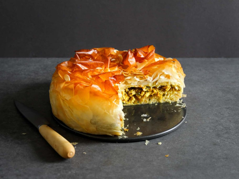 Moroccan Chicken Pastilla with Frangipane